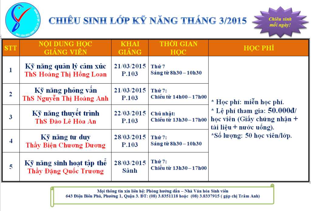 TO ROI 5 KY NANG MIEN PHI
