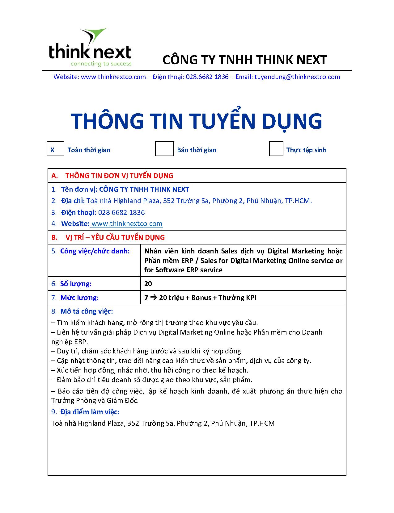 CTY THINK NEXT-THONG TIN TUYEN DUNG DOANH NGHIEP_Sales Digital & ERP_Page_1