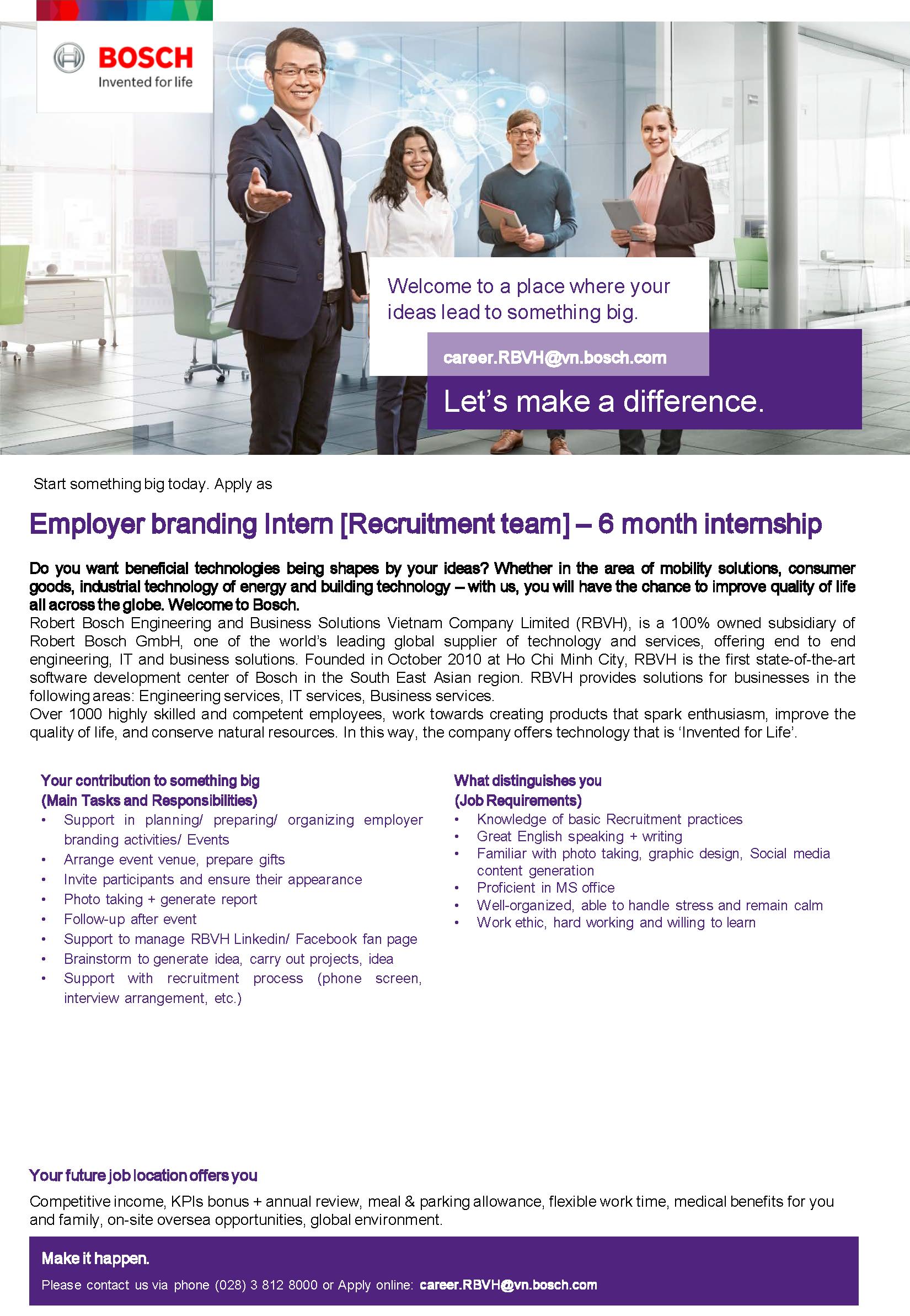 Employer branding Intern
