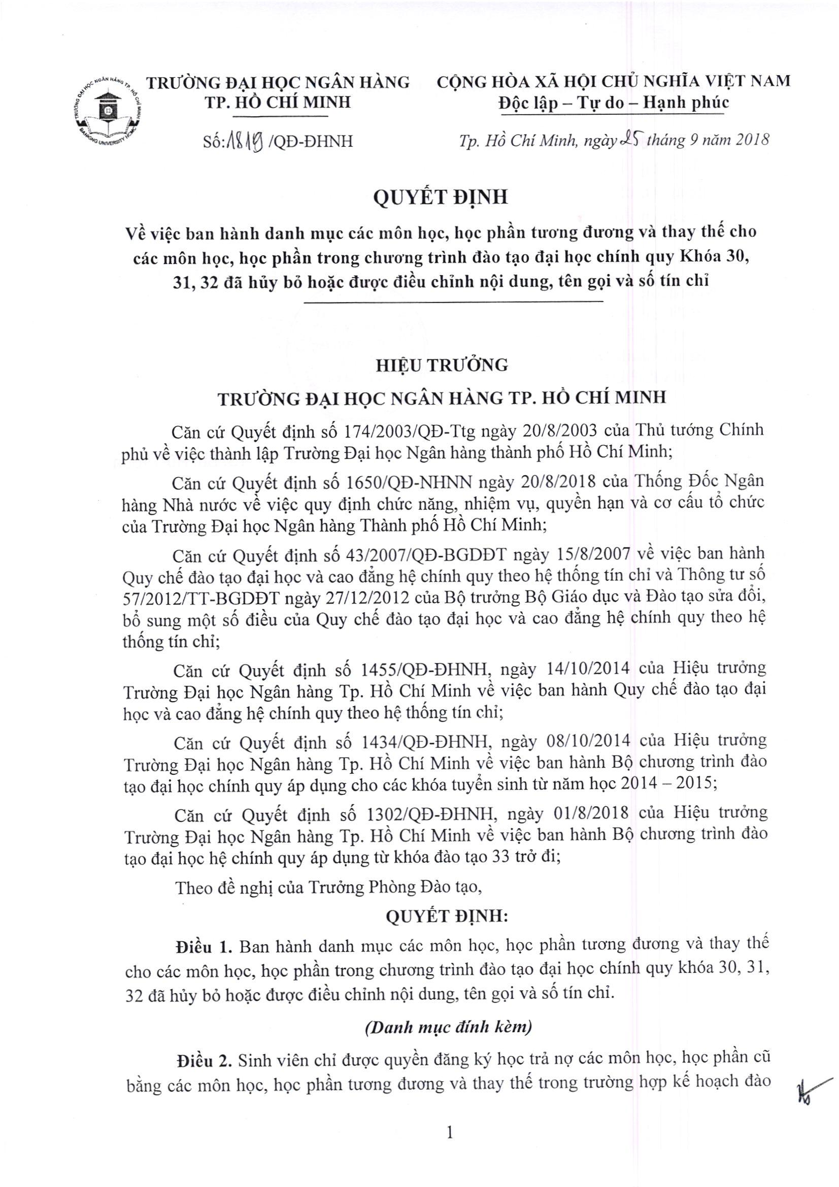 1819.18-Danh muc cac mon hoc-hoc phan tuong duong va thay the mon hoc hoc phan DHCQ K30-31-32_Page_1