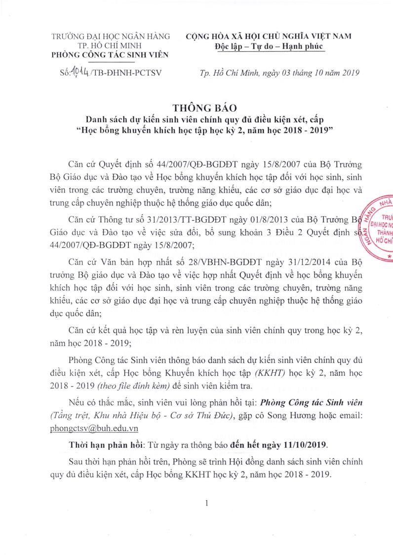 1 - Thong bao DS du kien SVCQ du dieu kien xet cap HB KKHT HK2 NH2018-2019_Page1