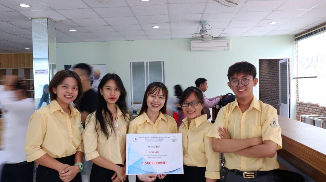 Dự án E.D2HAND đạt Giải Nhì Cuộc thi SV_STARTUP 2020 cấp trường.